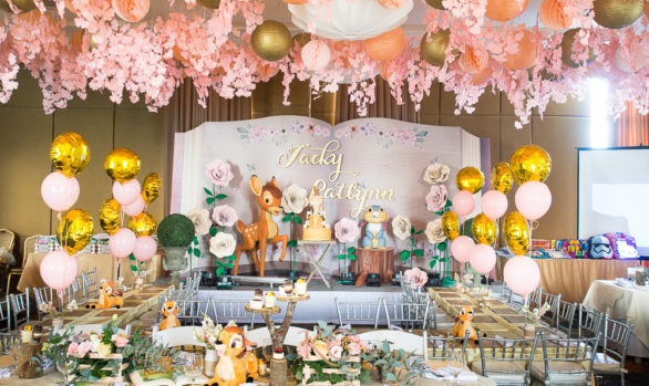 Bambi themed party