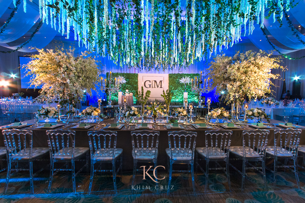 davao wedding intimate reception decor styling by Khim Cruz