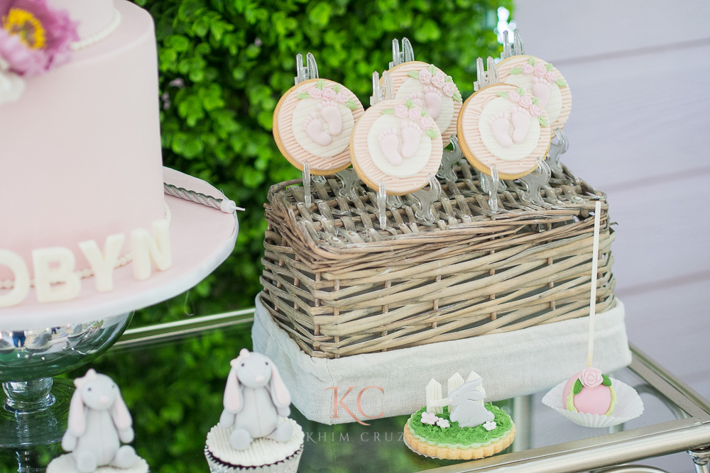 pottery barn themed party dessert