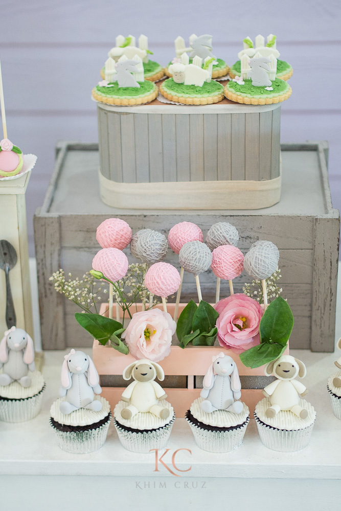 pottery barn themed party desserts