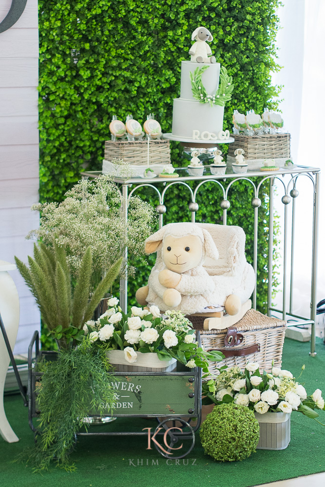 pottery barn themed party detail