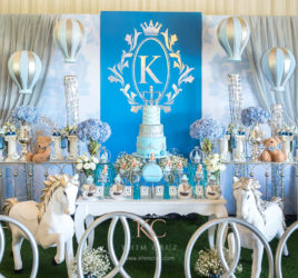 royalty prince castle birthday dessert table decor setup party by Khim Cruz