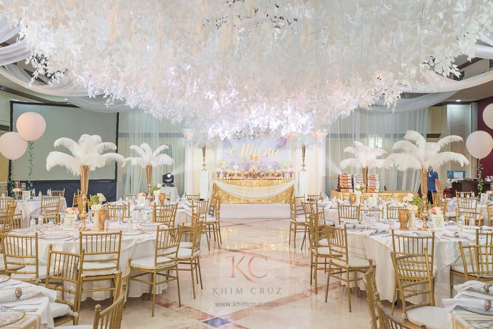 Athenas Grecian Theme Baptismal Khim Cruz Wedding And Event