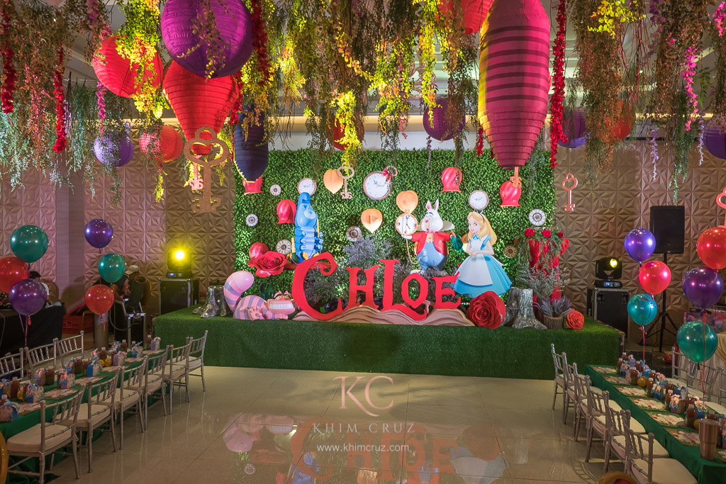 Chloe S Alice In Wonderland Party Khim Cruz Wedding