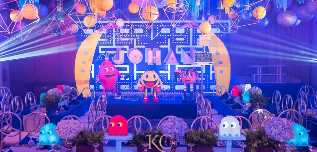 Pacman Kids Childrens Birthday Party Setup Styling By Khim Cruz