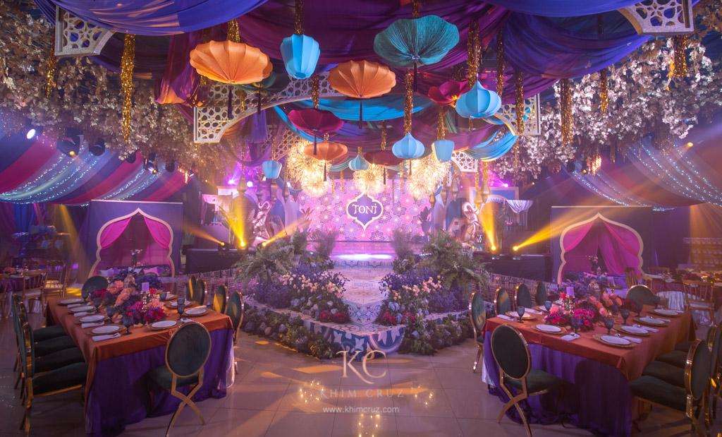 Toni S Arabian Nights Themed Birthday Gensan Khim Cruz
